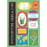 Karen Foster Design - School Collection - Cardstock Stickers - I Am In Fourth Grade