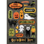 Karen Foster Design - Halloween Collection - Cardstock Stickers - Boo