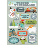 Karen Foster Design - Winter Collection - Cardstock Stickers - Winter Wonderland