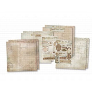 Karen Foster Design - Scrapbook Kit - Ancestry