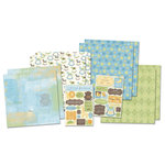 Karen Foster Design - Baby Boy Collection - Scrapbook Kit - Little Prince