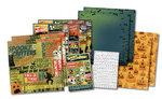 Karen Foster Design - Halloween Collection - Scrapbook Kit - Spooky Cinema