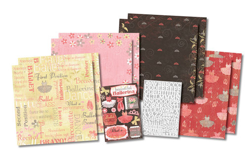 Karen Foster Design - Ballet Collection - Scrapbook Kit - Ballet Class