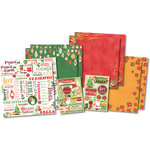 Karen Foster Design - Christmas Collection - Scrapbook Kit - Celebrate Christmas