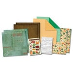 Karen Foster Design - Camping Collection - Scrapbook Kit - Camping Adventures