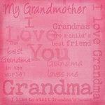 Karen Foster Paper - I Love Grandma, CLEARANCE