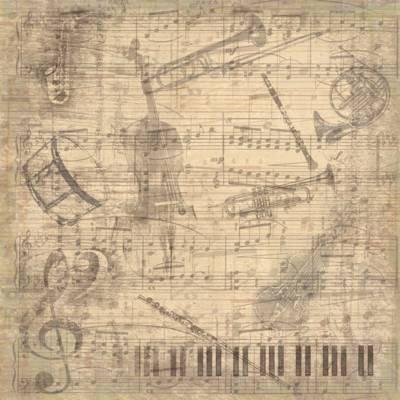 Karen Foster Design - Musical Score