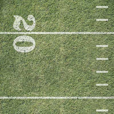 Karen Foster Design - Football Sports Fan Collection - 12x12 Paper - Football Field