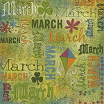 Karen Foster Design - Calendar Creations - Doodle - March