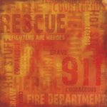 Karen Foster Design - Paper - Public Heroes Collection - Rescue Firefighters Collage