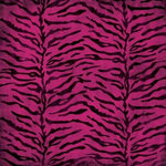 Karen Foster Design - Sweet 16 Collection - 12 x 12 Paper - Pink Zebra Print, CLEARANCE
