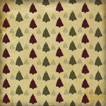 Karen Foster Design - Christmas Collection - 12 x 12 Paper - Little Trees