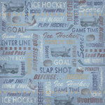 Karen Foster Design - Hockey Collection - 12 x 12 Paper - Hockey Collage