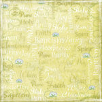 Karen Foster Design - Baptism Collection - 12 x 12 Paper - Baptism Day Collage