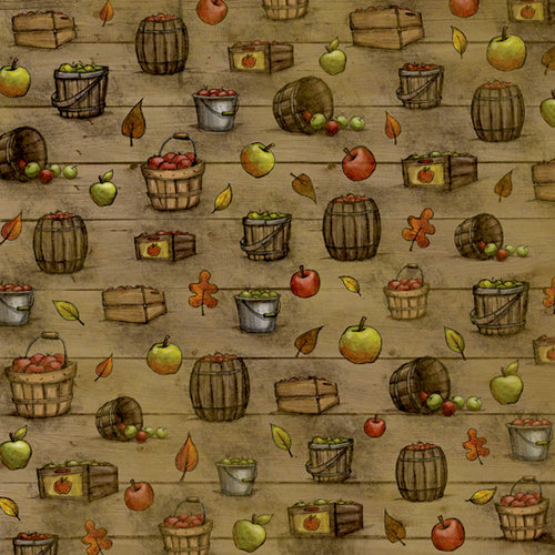 Karen Foster Design - Autumn Collection - 12 x 12 Paper - Bushels Of Harvest