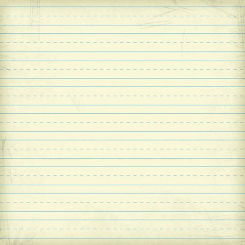 Karen Foster Design - School Collection - 12 x 12 Paper - Writing Practice