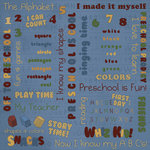 Karen Foster Design - Preschool Collection - 12 x 12 Paper - Whiz Kid Collage