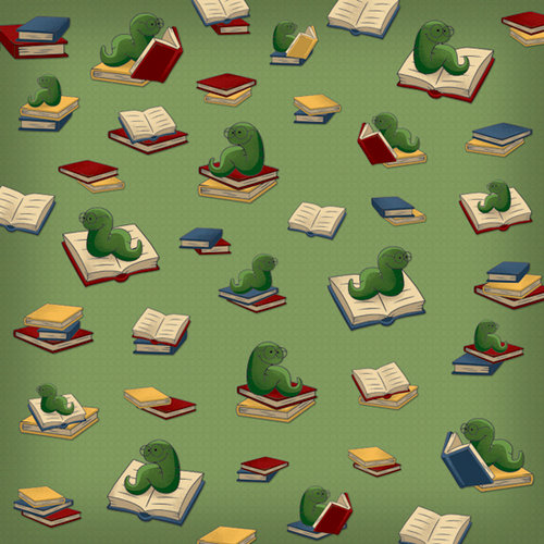 Karen Foster Design - Preschool Collection - 12 x 12 Paper - Bookworm