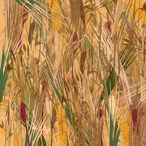 Karen Foster Design - 12 x 12 Paper - Wetland Camouflage