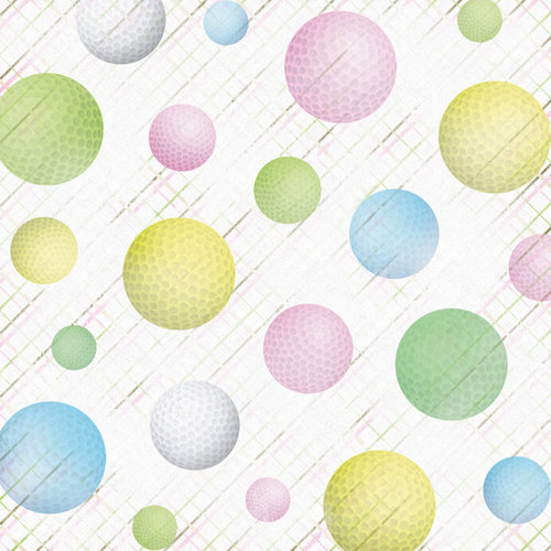 Karen Foster Design - Golf Collection - 12 x 12 Paper - Fore! Women's