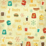 Karen Foster Design - Family Reunion Collection - 12 x 12 Paper - Family. Food. Fun.