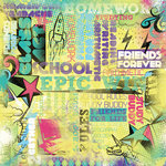 Karen Foster Design - School Collection - 12 x 12 Paper - Class Act Collage