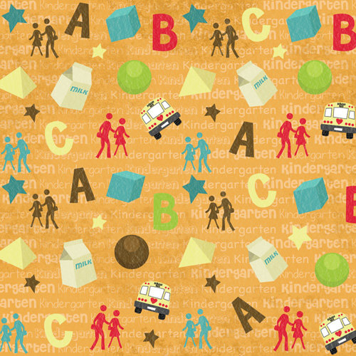 Karen Foster Design - Grade School Collection - 12 x 12 Paper - Kindergarten