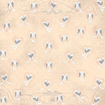 Karen Foster Design - Wedding Collection - 12 x 12 Paper - Lovebirds