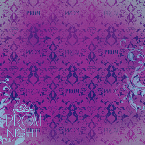 Karen Foster Design - Prom Collection - 12 x 12 Paper - Prom Night