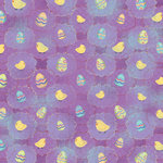 Karen Foster Design - Easter Collection - 12 x 12 Paper - Eggs and Chicks