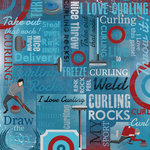 Karen Foster Design - Curling Collection - 12 x 12 Paper - Curling Collage