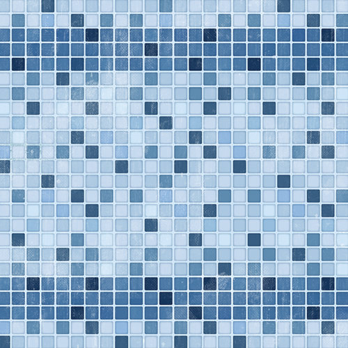 Karen Foster Design - Swimming Collection - 12 x 12 Paper - Pool Tiles