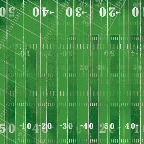 Karen Foster Design - Football Collection - 12 x 12 Paper - 1st and 10