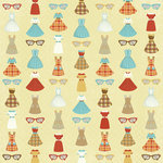 Karen Foster Design - Grandma Collection - 12 x 12 Paper - Grandma's Closet
