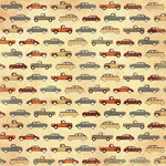 Karen Foster Design - Grandpa Collection - 12 x 12 Paper - Grandpa's Automobiles