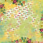 Karen Foster Design - Spring Collection - 12 x 12 Paper - Springtime Flowers