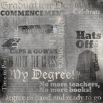 Karen Foster Design - Graduation Collection - 12 x 12 Paper - Graduation Day Collage