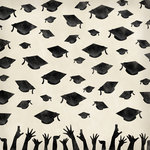 Karen Foster Design - Graduation Collection - 12 x 12 Paper - Hats Off