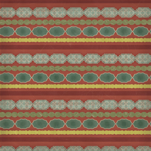 Karen Foster Design - In Memory Collection - 12 x 12 Paper - Memory Stripe