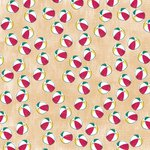 Karen Foster Design - Sunny Days Collection - 12 x 12 Paper - Beach Balls
