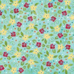 Karen Foster Design - Sunny Days Collection - 12 x 12 Paper - Summertime Flowers