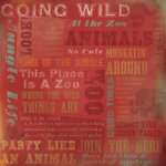 Karen Foster Design - Zoo Collection - 12 x 12 Paper - At The Zoo Collage