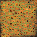 Karen Foster Design - Halloween Collection - 12 x 12 Paper - So Many Pumpkins