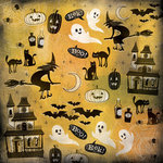 Karen Foster Design - Halloween Collection - 12 x 12 Paper - It Is Halloween