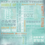 Karen Foster Design - Winter Collection - 12 x 12 Paper - Winter Wonderland Collage