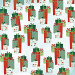Karen Foster Design - Christmas Collection - 12 x 12 Paper - Christmas Gifts