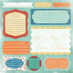 Karen Foster Design - 12 x 12 Paper - Adoption Journaling