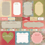 Karen Foster Design - 12 x 12 Paper - Engagement Journaling