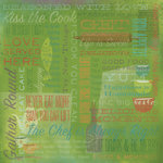 Karen Foster Design - 12 x 12 Paper - Kiss The Cook Collage