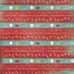 Karen Foster Design - 12 x 12 Paper - Cooking Stripes